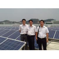 Wholesale Poly Silicon 1MW Photovoltaic Solar Panel Flat Roof Mounting System from china suppliers
