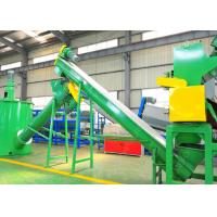 Wholesale HDPE Hard Plastic Washing Recycling Machine , 304 Stainless Steel Machinery Used In Recycling from china suppliers