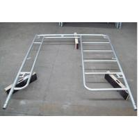 Buy cheap Welded Light Duty H Frame Scaffolding System Door Walk Through Type from Wholesalers