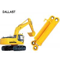 Wholesale Heavy Duty High Pressure Hydraulic Cylinder Dual Stage For Industrial Crane Excavator from china suppliers