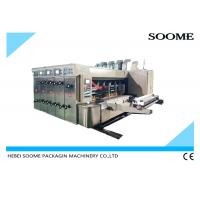 China Automatic Digital 3 Color Flexo Printing Machine For Corrugated Carton Box on sale