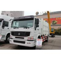 Buy cheap XZJ5100TCAQ4 China Push Discharging Rear Load White Color 4x2 8cbm Restaurant Garbage Truck from wholesalers