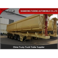 Wholesale Air Suspension 80T 5 Axles 45 Cubic Meters Dump Trailer from china suppliers