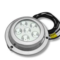 Wholesale Hot sale!6X3W IP68 18W LED boat light ocean led underwater lights,LED underwater light from china suppliers
