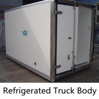 Wholesale Factory Direct Sale 7, 8, 9 tons Refrigerated Van Box from china suppliers