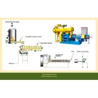 Buy cheap Blue/yellow Fish Feed Extruder FY-DSP200 with 3-5t/h production from Wholesalers