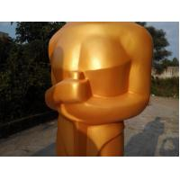Buy cheap Event party decoration custom golden fiberglass Oscar statue for sale from wholesalers