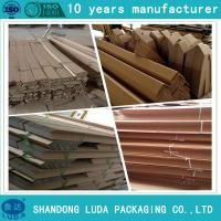 Wholesale cardboad waterproof/moistureproof edge corner boards for pallet/papery packaging materials from china suppliers