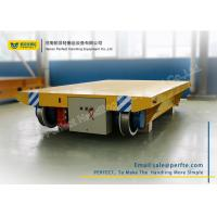 Wholesale Cable Powered Rail Transfer Cart Wagon Anti - High Temperature With Flat Bed from china suppliers