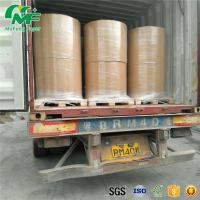 Wholesale Nontoxic 55gsm Thermal Paper Jumbo Rolls , Jumbo Paper Roll High Rubbing Resistance from china suppliers