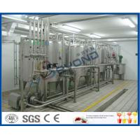 Wholesale SUS304 Pure Milk Production Line / 2000L/H Milk Processing Plant With PLC Control from china suppliers