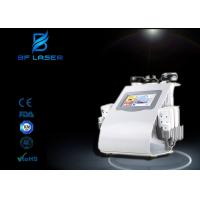 Wholesale Body Shaping Ultrasound Cavitation RF Beauty Machine , Body Cavitation Machine With 8 Pads from china suppliers
