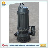 China cast iron submersible sewage pump with cutter on sale