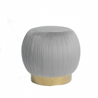 Wholesale Modern Home Furniture Sweet Seat Pleated Blush Ottoman / Stools from china suppliers