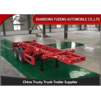 Wholesale 20ft Container Chassis Trailer from china suppliers