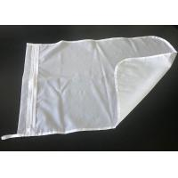 China 75*55cm Nylon Material 90 Micron Filter Bag For Laundry With Zipper on sale