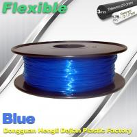 Wholesale High Soft TPU Rubber 3D Printer Filament 1.75mm / 3.0Mm In Blue from china suppliers