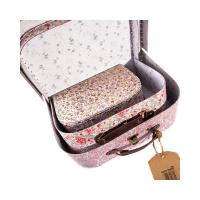 Wholesale Gloss / Matte Lamination Cardboard Suitcase Box  from china suppliers