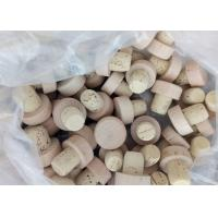 Wholesale Customized Small Wooden Vial Cork Non Spill Type For Glass Bottle Vials from china suppliers
