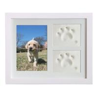 Wholesale Wooden Custom Photo Frame 28x23CM For Dog Or Cat Pet Paw Picture Display from china suppliers