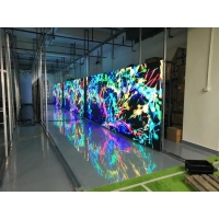 Wholesale SMD1921 P3.91 P7.8 Transparent Led Advertising Curtain 1R1G1B from china suppliers