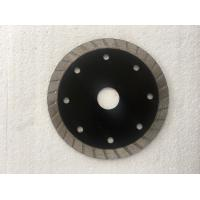 Wholesale Black Turbo Rim Diamond Blade Granite Diamond Cutting Blade 105MM-350MM from china suppliers