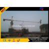 Heavy Duty Construction Lift Equipment , Climbing Tower Crane 1.0T Tip Load