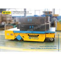 Wholesale Heavy Duty Industrial Transfer Car , Large Platform Battery Motorized Carriage on Wheels from china suppliers