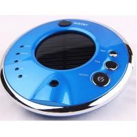 Wholesale Air freshener solar car air purifier shell with negative ion HDJHQ3-2 blue color from china suppliers