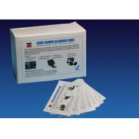 China ATM CR80 Flat Cleaning Card , Pre Saturated Atm Cleaning Cards With IPA Solution on sale