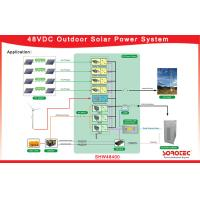 Buy cheap 48  Voltage DC Power System , Stable / Reliable Hybrid Solar System Single Phase from wholesalers