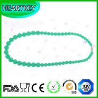 Wholesale FDA 100% Food Grade-Baby Teether Necklace - Silicone Sensory Teething Necklace Toys - Fun, from china suppliers