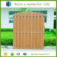 Wholesale HEYA outdoor wood plastic composite model fence designs wpc list from china suppliers