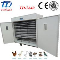 Wholesale Hot sale TD-2640 full automatic chicken egg hatching machine from china suppliers