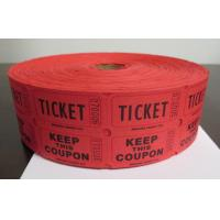 Quality Admission Printed Thermal Ticket Blank Biodegradable Recycled Odor Free for sale