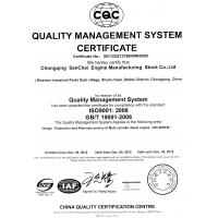 Chongqing SAC Power Group Co.,Ltd. Certifications