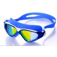 Wholesale High Performance Swimming Goggles , Eye Goggles For Swimming Blue Color from china suppliers