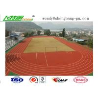 Buy cheap Durable and Eco-Friendly Ventilative Athletic Running Track Flooring for School Sport Floor from Wholesalers