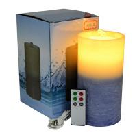 Wholesale Gradient Color Flameless Candle Fountain With Lithium Battery from china suppliers