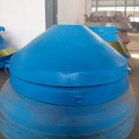 Buy cheap Symons Pegson Series cone crusher spare parts high manganese steel casting cone from wholesalers
