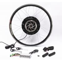 China Front Rear Wheel Electric Bike Conversion Kit With PAS Twist Or Thumb Throttle on sale