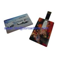 China Personalized Credit Card USB Flash Drives on sale