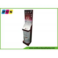 China Creative Design Cardboard Retail Display , Cosmetic Point Of Purchase Product Display Stands FL195 on sale