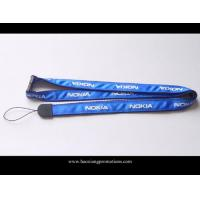 Wholesale excellent quality custom heat transfer Sublimation polyester Lanyard neck strap from china suppliers