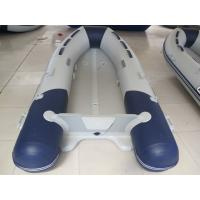 Wholesale inflatable tube aluminum floor folding fishing boat from china suppliers