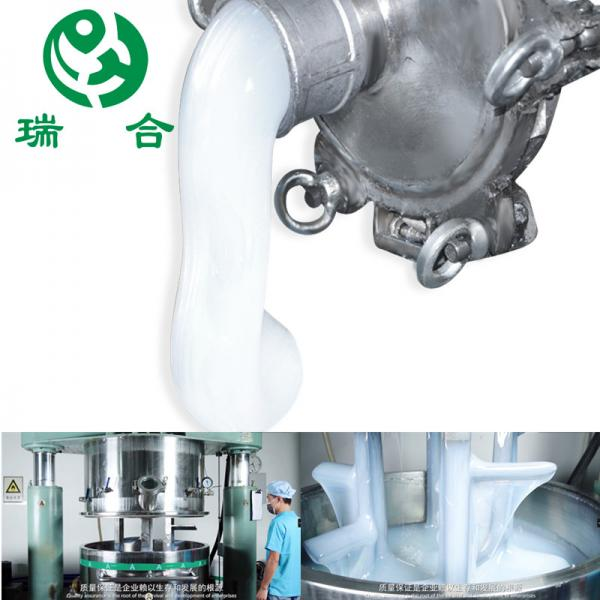 Quality Low Viscosity Transparent 650% Hose Food Grade Silicone Rubber for sale