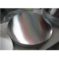 China Bright Aluminum Sheet Circle 1060 1050 1100 Surface Polished For Toothpaste Case on sale