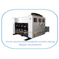 Buy cheap 2016 new design TB480 chain feeder 2 color printing slotting carton box making machine from Wholesalers