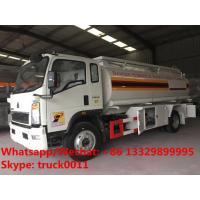 Wholesale customized OEM SINO TRUK HOWO 10M3 refueler truck for sale, Factory sale good price HOWO 4*2 LHD oil dispensing truck from china suppliers
