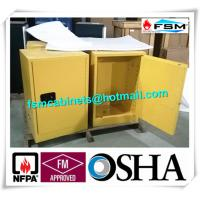 Wholesale Flammable Storage Containers , Chemical Storage Cabinets For Laboratory from china suppliers